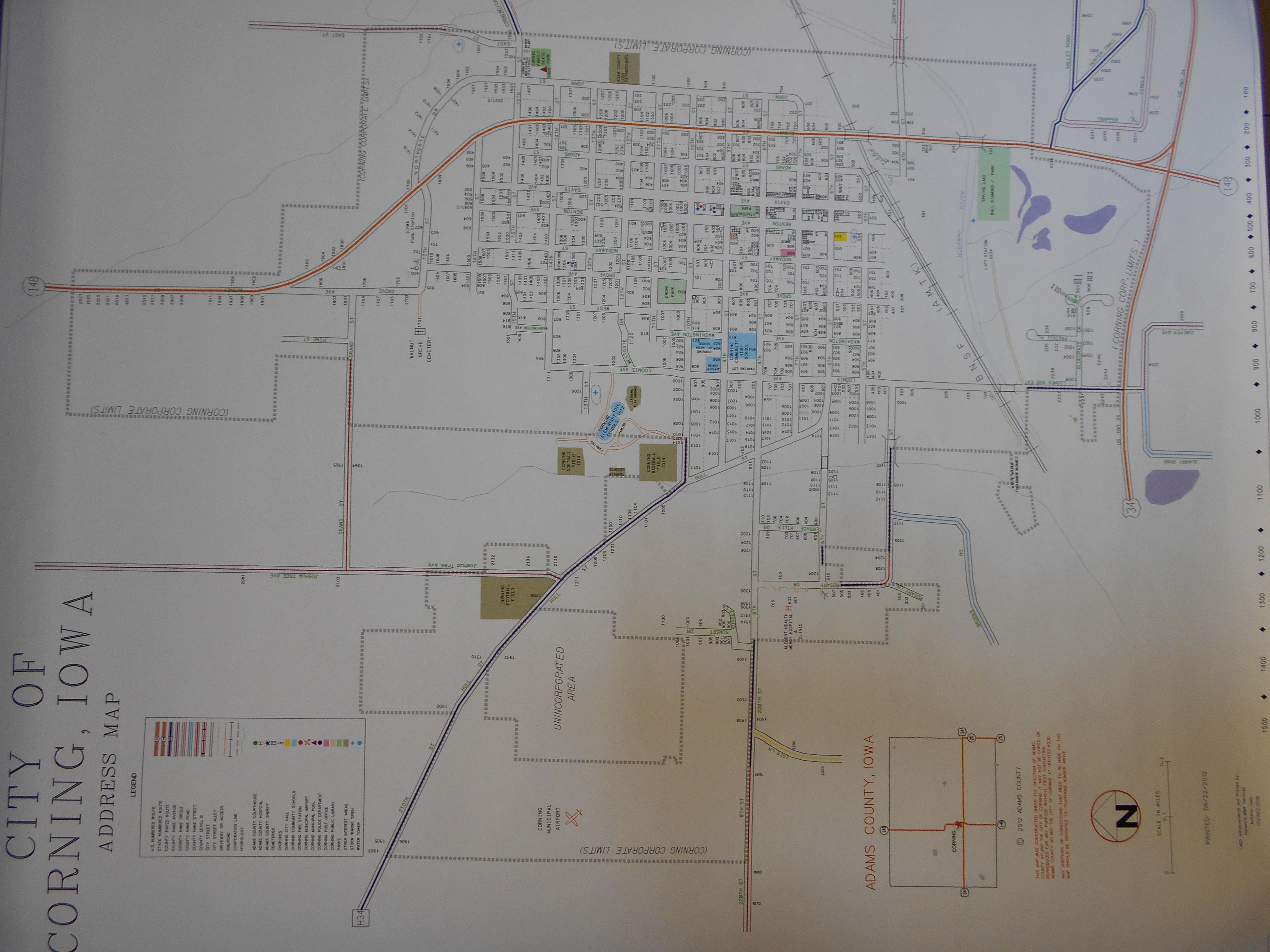 City of Corning Maps   City of Corning, Iowa